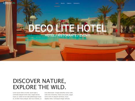 Deco Lite Template Hotel